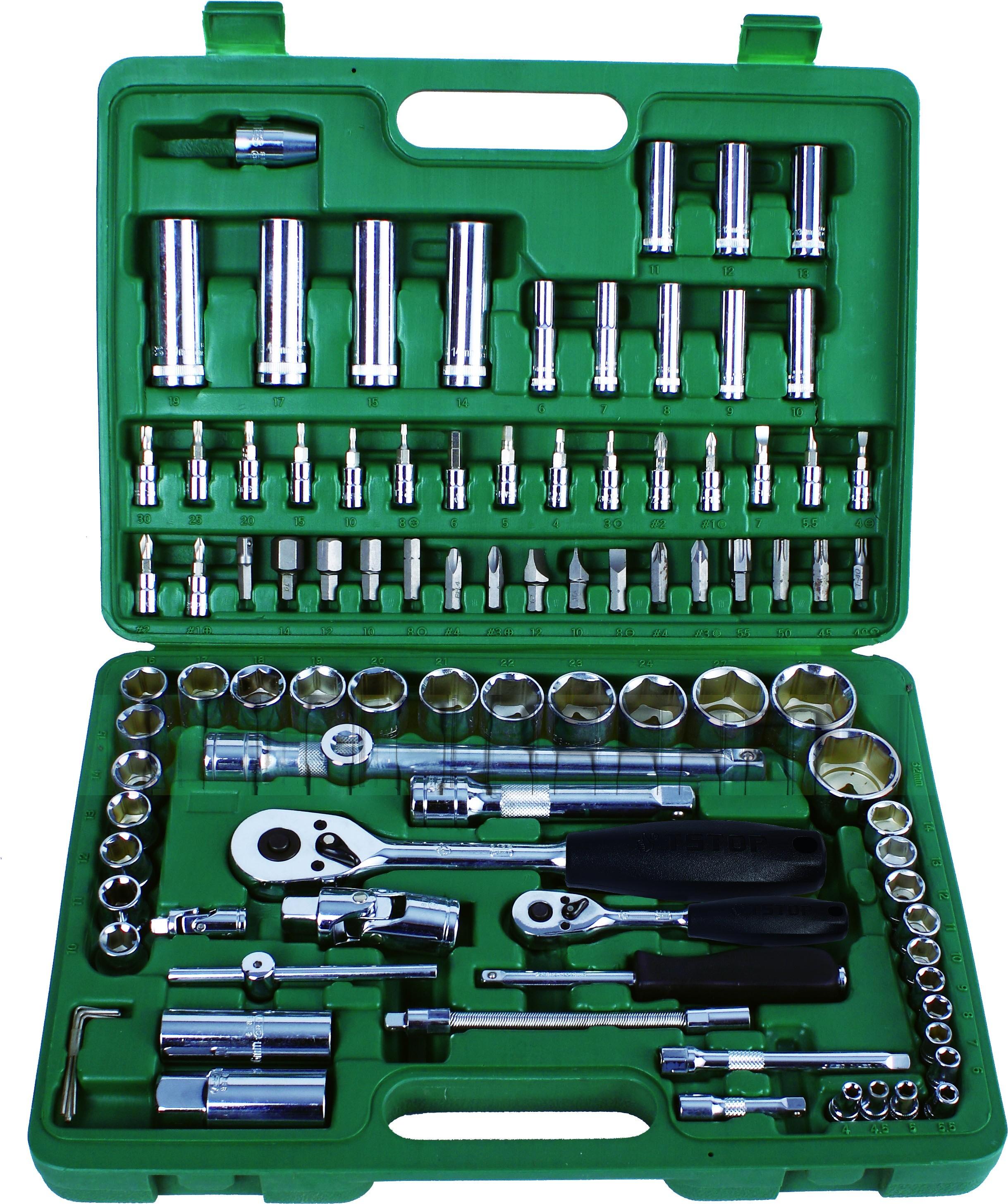 b1236d95156c2 Kpl. kluczy nasadowych 1 4 i 1 2
