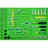 Kpl narzędzi we wkładce 81 elementów