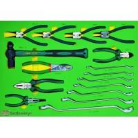 Kpl narzędzi we wkładce 16 elementów