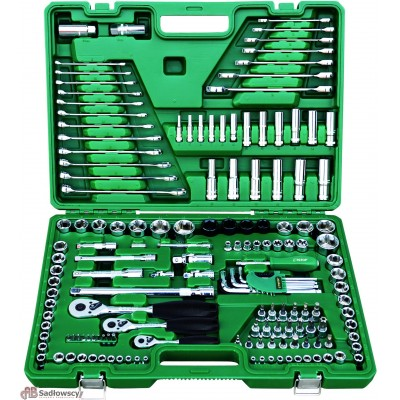 66ed01d6ec72b Zestaw kluczy 158 elementów -